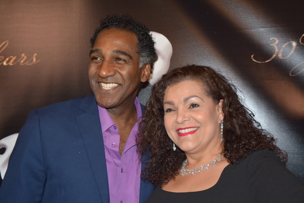 Norm Lewis and Patricia Phillips