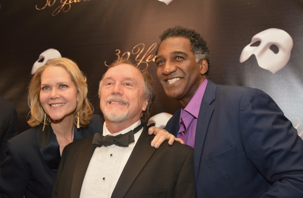 Rebecca Luker, George Lee Andrews and Norm Lewis