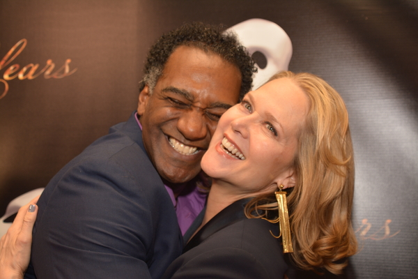 Norm Lewis and Rebecca Luker