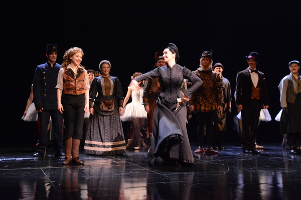 Kara Klein, Maree Johnson and The Cast of Phantom of The Opera