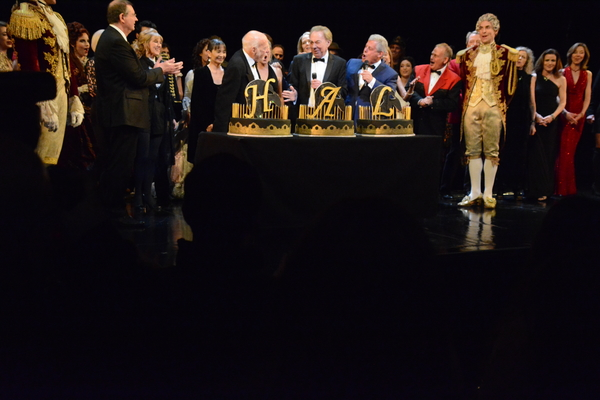 Phantom of the Opera is 30 and Hal Prince is 90!  Hal Price, Cameron Mackintosh and Andrew Lloyd Webber