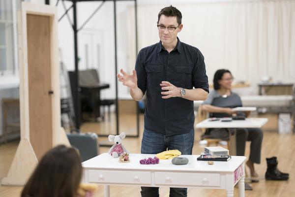 Photo Flash: In Rehearsal with Suranne Jones and the Cast of FROZEN