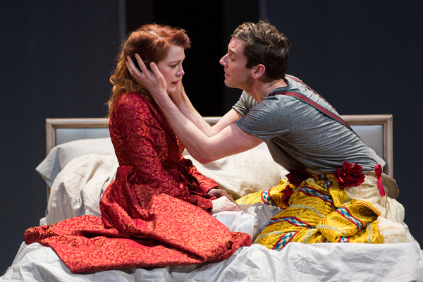 Madeleine Potter and Michael Urie