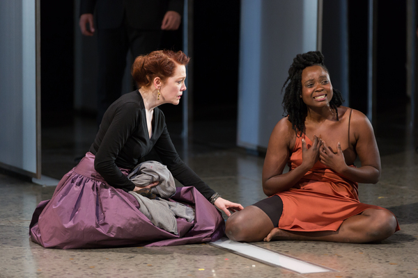 Madeleine Potter and Oyin Oladejo