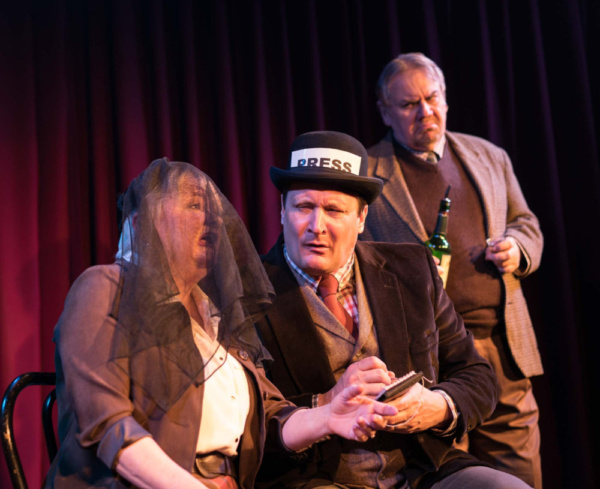 From left- Charis Leos, Curt Dale Clark, Peter Cormican- Photo by Kinectiv Photo
