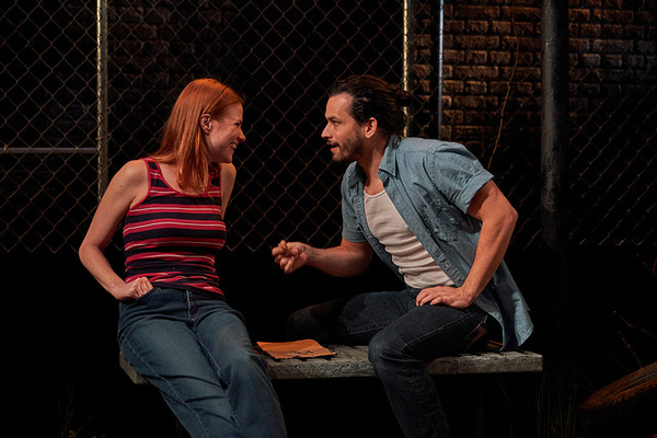 Kate MacCluggage and Marcin Mesa in IRONBOUND