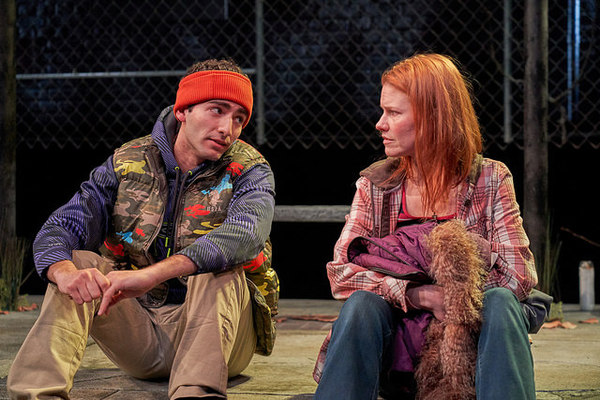 Adrian Abel Amador and Kate MacCluggage in IRONBOUND