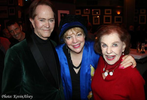 Steve Ross, KT Sullivan, Joan Copeland Photo