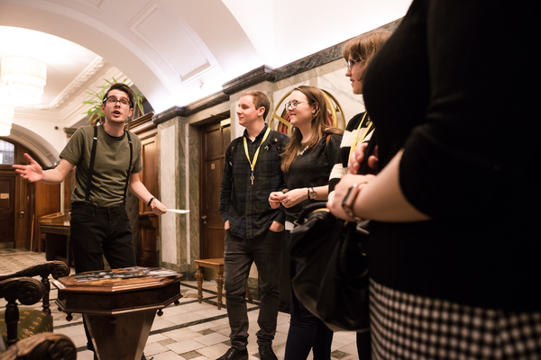 Photos: First Look at THE GRIFT, a New Immersive Experience at the Historic Bethnal Green Town Hall Hotel