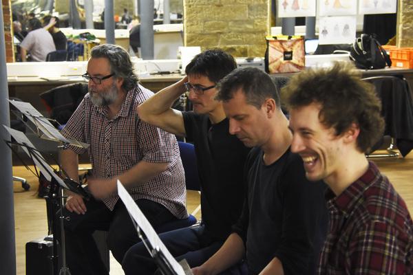 Howard Chadwick, Tony Hunt, Paul Barnhill, Perry Moore