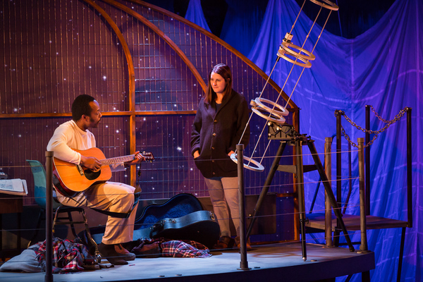 Photo Flash: First Look at the World Premiere of MAGELLANICA at Artists Rep