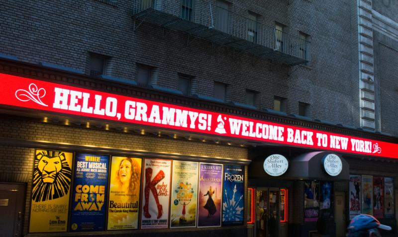 Photo Flash: The 2018 Grammy Awards Receive New York Welcome from HELLO, DOLLY!