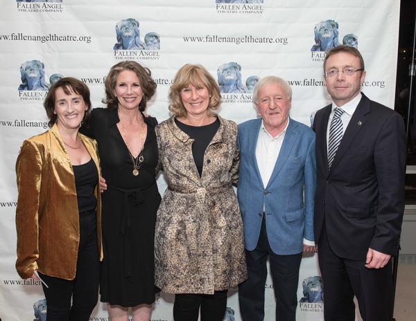 Aedin Moloney, Melissa Gilbert, Geraldine Aron, Paddy Moloney, and Ciaran Madden