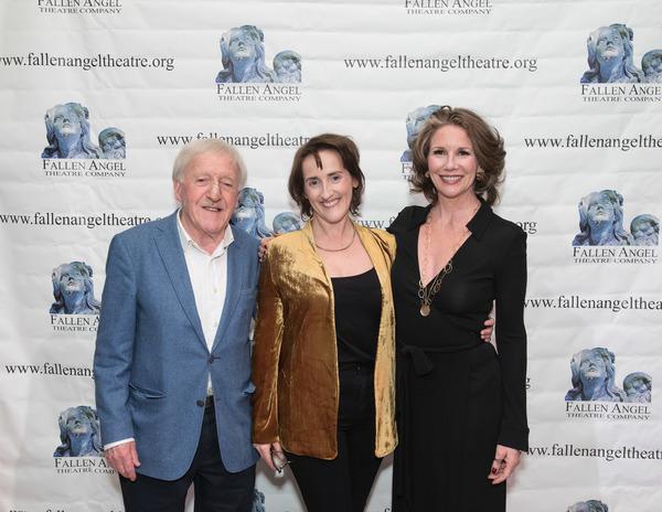 Paddy Moloney, Aedin Moloney, and Melissa Gilbert  Photo