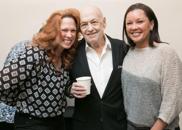 Carolee Carmello, Charles Strouse and Vanessa Williams