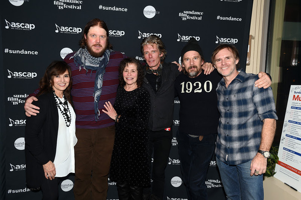(l-r) ASCAP's Loretta Muñoz, singer-songwriter and actor Ben Dickey, who plays Bla Photo
