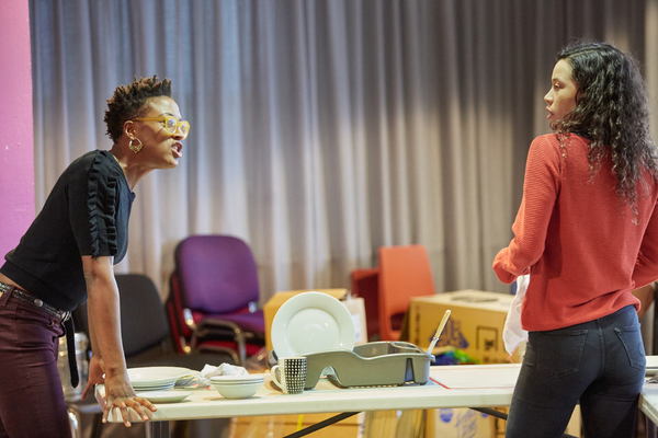 Photo Flash: In Rehearsal for CHICKEN SOUP at Sheffield Theatres