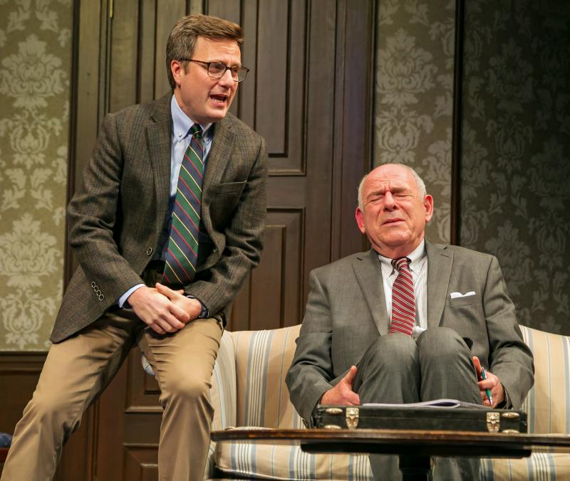 BWW Review: See THE OUTSIDER at Paper Mill Playhouse-A Superb Political Satire