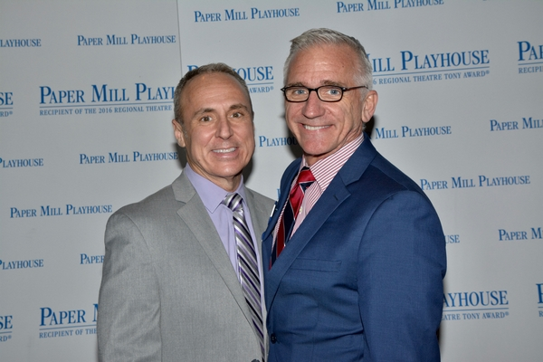 Larry Elardo and Mark S. Hoebee (Paper Mill Playhouse Producing Artistic Director)