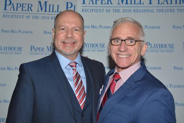 Todd Schmidt (Paper Mill Playhouse Managing Director) and Mark S. Hoebee