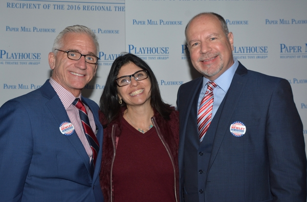 Mark S. Hoebee, Jodi Rosenberg (Deputy Mayor Millburn, NJ) and Todd Schmidt Photo