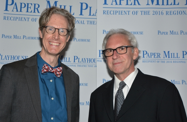 Paul Slade Smith (Playwright) and David Esbjornson (Director)