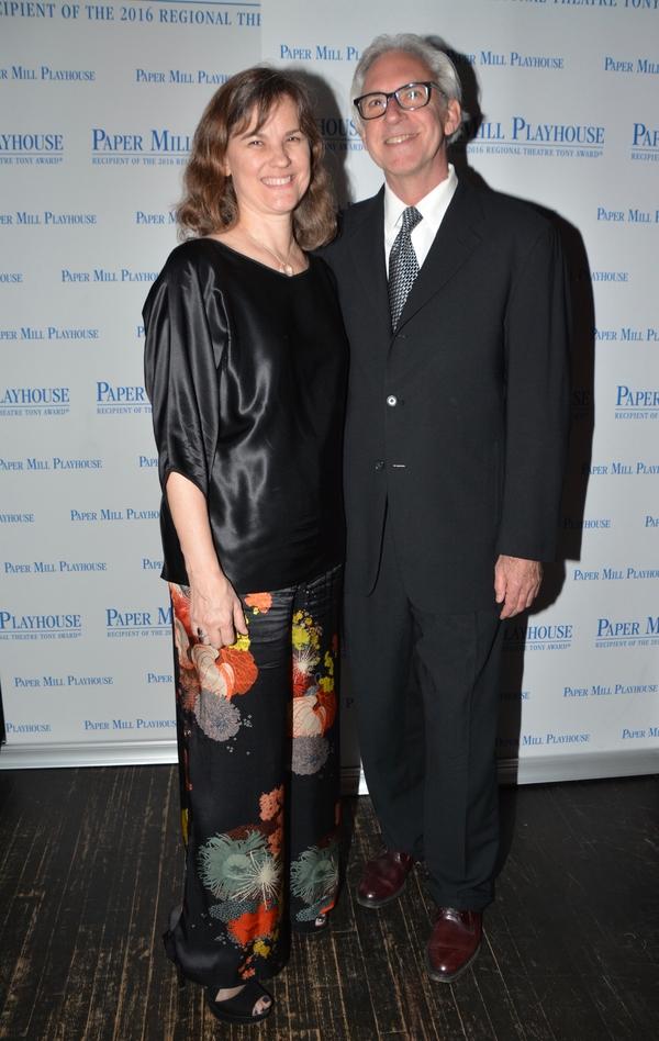 Elizabeth Hope Clancy and David Esbjornson