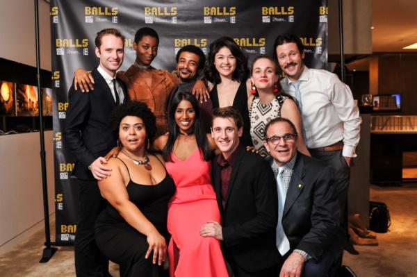 Photo Flash: BALLS Celebrates Opening With A Grand Slam Bash at 53w53