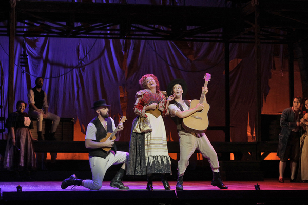 Photo Flash: First Look at Kelsey Grammer, Christine Ebersole & More in LA Opera's CANDIDE!
