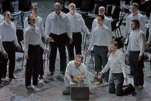 Photo Flash: Yannick Nezet-Seguin Conducts Wagner's PARSIFAL