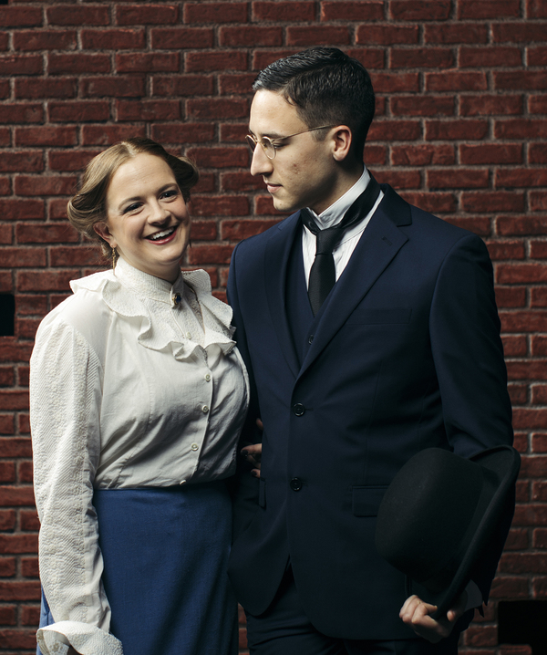 Megan Kelly as Lucille Frank and James Verderamo as Leo Frank