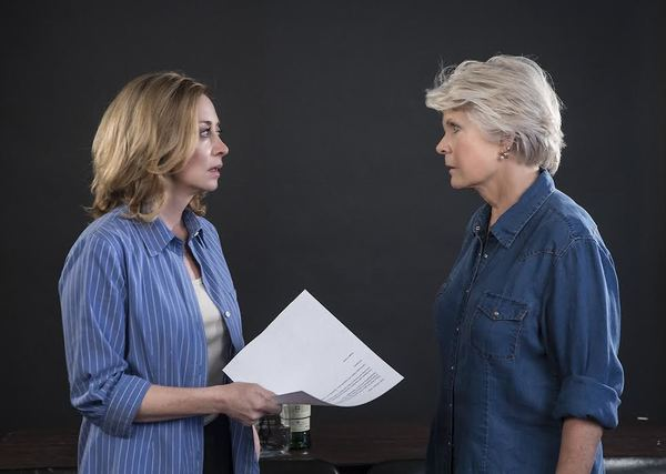 Sharon Lawrence and Meredith Baxter