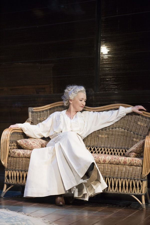 Lesley Manville as Mary Tyrone