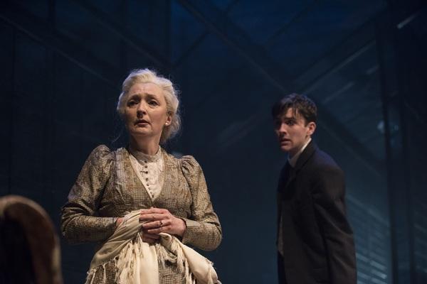 Matthew Beard as Edmund Tyrone and Lesley Manville