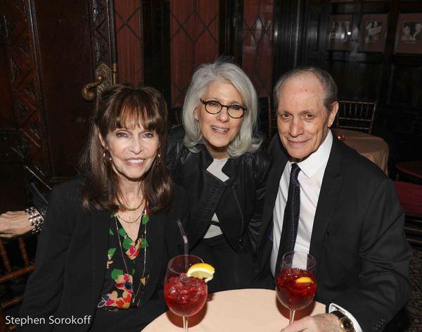 Barbara Feldon, Jamie deRoy, Buddy Manti Photo