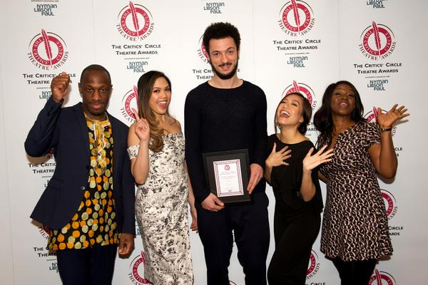Photos: HAMILTON, Bryan Cranston, and More Win Big at Critics' Circle Awards