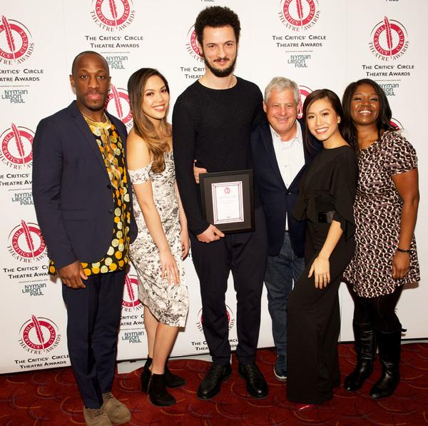 Cameron Mackintosh & the cast of Hamilton