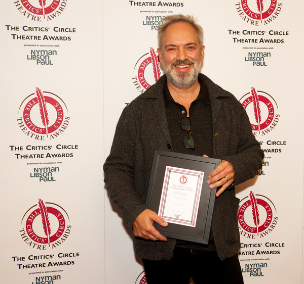 Sam Mendes accepts Best New Play for The Ferryman