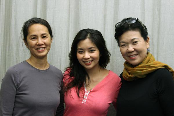 Karen Tsen Lee, Leanne Cabrera, Shigeko Sara Suga Photo