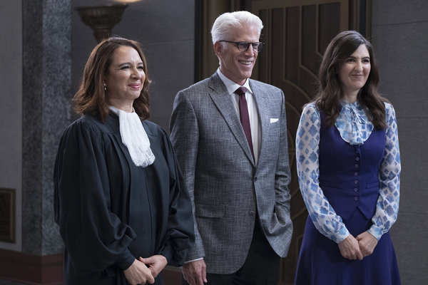 Maya Rudolph, Ted Danson, D'Arcy Carden