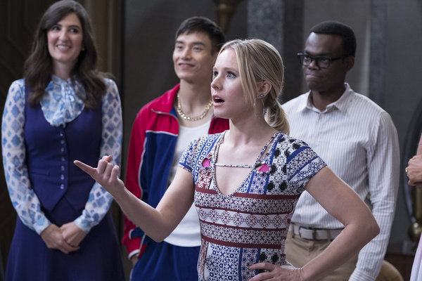 Photo Coverage: Check Out Maya Rudolph and Kristen Bell in THE GOOD PLACE Season One Finale