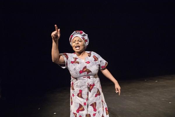 Debbie Ohiri in HEAR WORD! Naija Woman Talk True. Photo: Gretjen Helene Photography