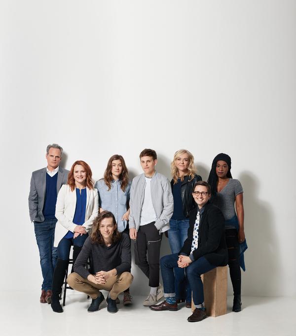 Cast of Dear Evan Hansen
