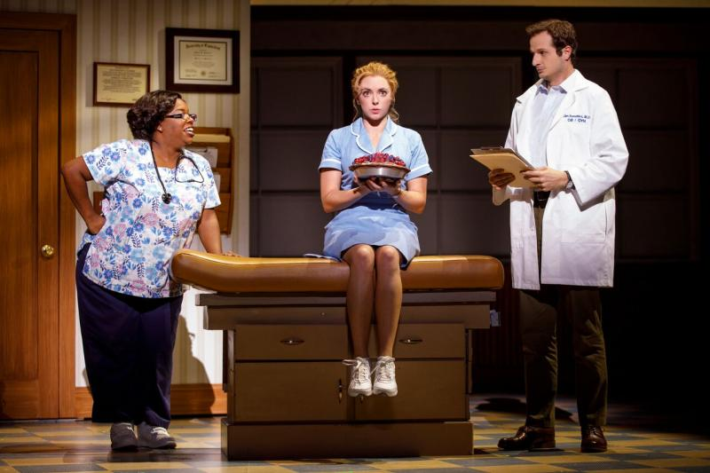 BWW Review: WAITRESS at The Hippodrome is Two Parts Love Story and One Part Comedy with a Dash of Heart Sprinkled Throughout
