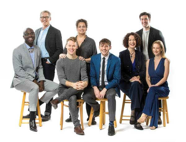 Photo Flash: Get a First Look at Stephen Spinella and the Cast of Berkeley Rep's ANGELS IN AMERICA