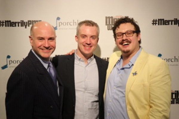 Photo Flash: Porchlight Music Theatre Celebrates Opening Night of MERRILY WE ROLL ALONG