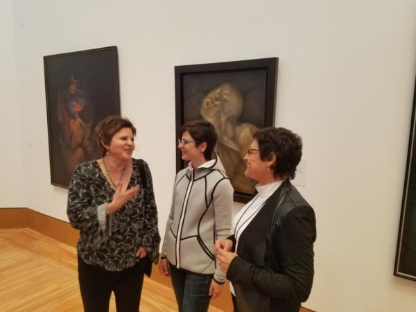 Hortensia Soriano, Jeanne Habib, and Gema Corredera