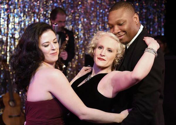 Stephanie Butler, Angela Davis, and Rodney Morris