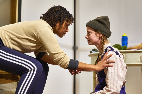 Photo Flash: Inside Rehearsals for MACBETH at the National Theatre