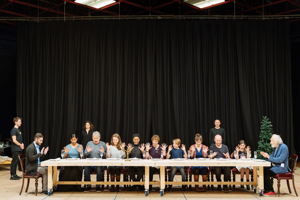 Photo Flash: Inside Rehearsal For FANNY & ALEXANDER at The Old Vic